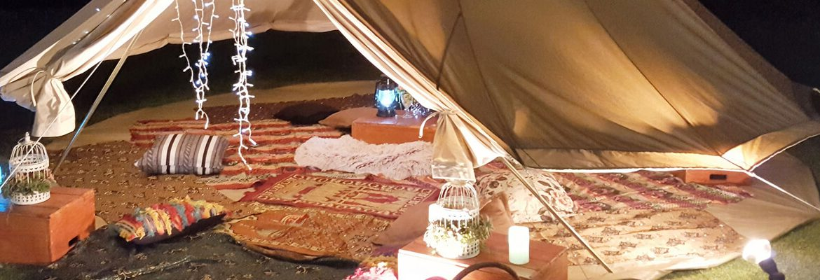 Under the Little Top – Events in Tents