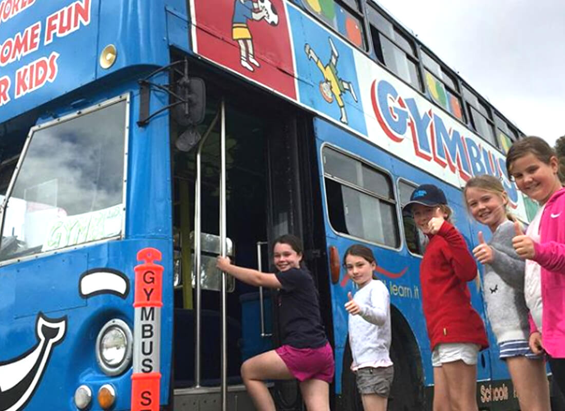 Gymbus – Where the Fun Parks at Home