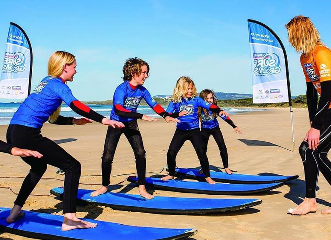 Big Wave Surfing School