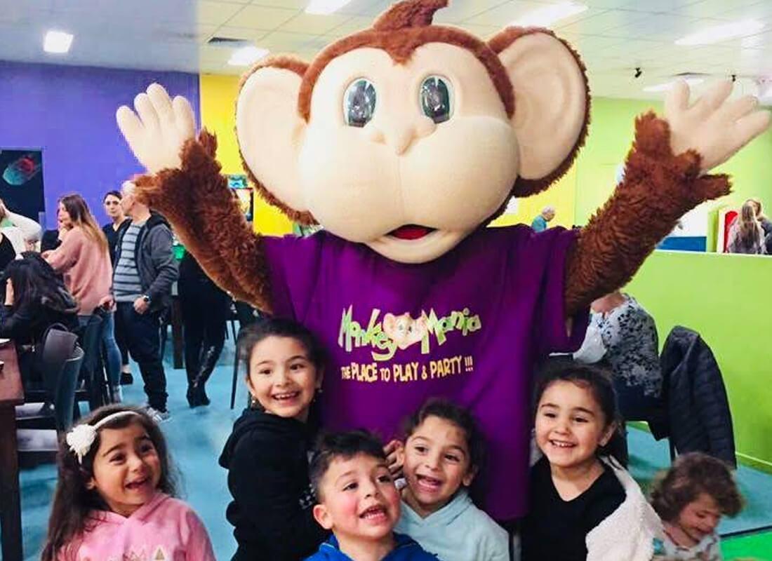 Monkey Mania Top Ryde