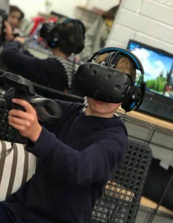 Virtual Reality Video Game Arcade