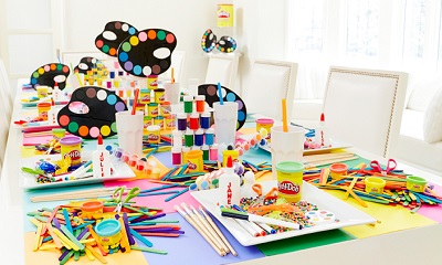 arts and crafts party for kids 1 Ideas for a Fun and Exciting Art and Crafts Party for Kids