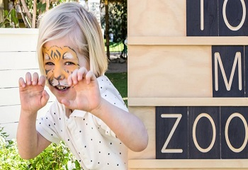 zoo party 1 Tips on having a Fun Zoo Party for Kids
