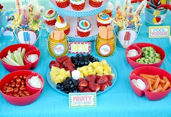 birthday party food Smart and Healthy Food for your Child's Birthday Party
